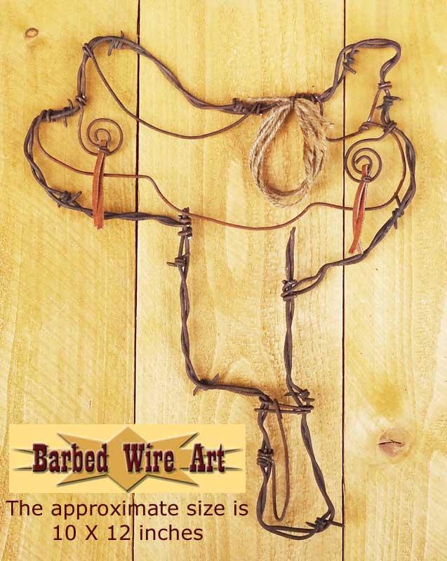Saddle horse rodeo texas western ranch wall decor folk